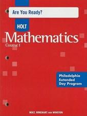 Holt Mathematics, Course