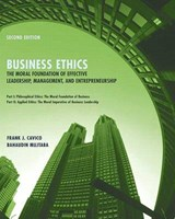 Business Ethics | Frank J. Cavico |