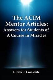 Acim Mentor Articles