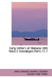 Early Settlers of Alabama