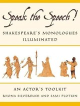Speak the Speech! | Rhona Silverbush |