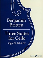 Three Suites for Cello, Opp. 72, 80 &
