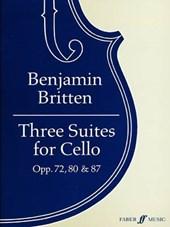 Three Suites for Cello, Opp. 72, 80 &