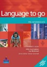 Language to Go. Pre-Intermediate Students' Book with Phrasebook | auteur onbekend |