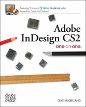 Adobe InDesign CS2 One-on-One +DVD | Deke Mcclelland |