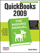 QuickBooks 2009: The Missing Manuall | Bonnie Biafore |