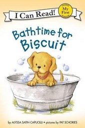 Bathtime for Biscuit | Alyssa Satin Capucilli |