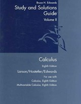 Calculus | Bruce H Edwards |