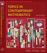 Topics in Contemporary Mathematics | Ignacio Bello |