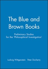 The Blue and Brown Books | Ludwig Wittgenstein |