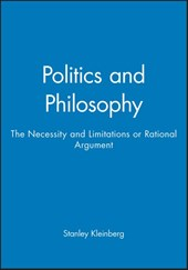 Politics and Philosophy | Stanley Kleinberg |