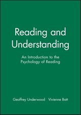 Reading and Understanding | Geoffrey Underwood |