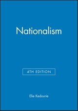 Nationalism | Elie Kedourie |