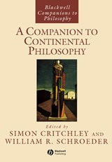 A Companion to Continental Philosophy | Simon Critchley |