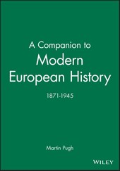 A Companion to Modern European History