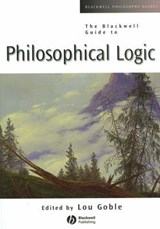 The Blackwell Guide to Philosophical Logic | Lou Goble |