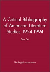 A Critical Bibliography of American Literature Studies 1954-1994