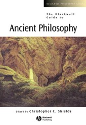 The Blackwell Guide to Ancient Philosophy | Christopher Shields |