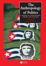 The Anthropology of Politics | Joan Vincent |