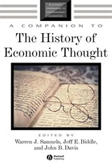 A Companion to the History of Economic Thought | Warren J. Samuels |