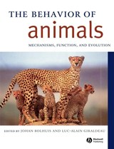 Behavior of Animals | Johan J. Bolhuis & Luc-Alain Giraldeau |