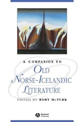 A Companion to Old Norse-Icelandic Literature and Culture | Rory McTurk |