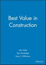 Best Value in Construction | John Kelly |