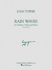 Rain Waves for Clarinet, Violin and Piano
