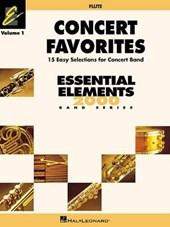 Concert Favorites Flute