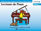 Piano Lessons Book 1 - Book/CD Pack - Spanish Edition