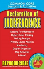 Declaration of Independence Common Core Lessons & Activities