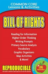 Bill of Rights Common Core Lessons & Activities | Carole Marsh |