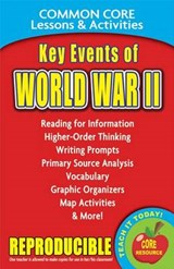 Key Events of World War II Common Core Lessons & Activities | Carole Marsh |