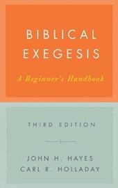 Bibical Exegesis