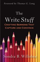 The Write Stuff | Sondra B. Willobee |