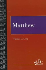 Matthew | Thomas G. Long |