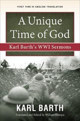 A Unique Time of God | Karl Barth |