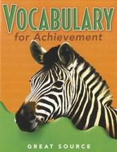 Vocabulary for Achievement, Grade 5