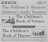 William J Bennett Children's Audio Treasury Cassette