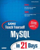 Sams Teach Yourself Mysql in 21 Days | Tony Butcher |