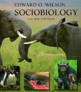 Sociobiology - The New Synthesis 25th Anniversary Edition (Paper)2e | Edward Wilson |