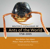 Bolton's Catalogue of the Ants of the World 1758-2005 CD