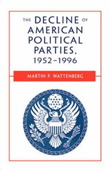 The Decline of American Political Parties 1952-1996 | Martin Wattenberg |