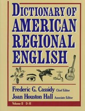 Dictionary of American Regional English V