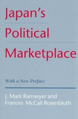 Japan's Political Marketplace (Paper) | Mark Ramseyer |