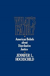 What`s Fair? -  American Beliefs about Disruptive Justice