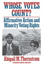 Whose Votes Count? - Affirmitive Action & Minority  Voting Rights (Paper)