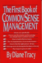 The First Book of Common-Sense Management | Diane Tracy |