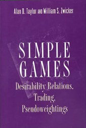 Simple Games - Desirability Relations, Trading, Pseudoweightings