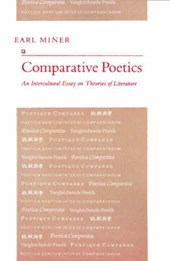 Comparative Poetics - An Intercultural Essay on Theories of Literature